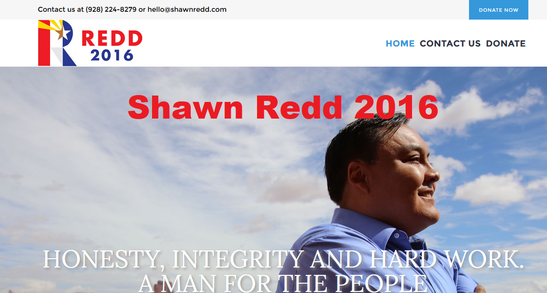 Shawn Redd's campaign website