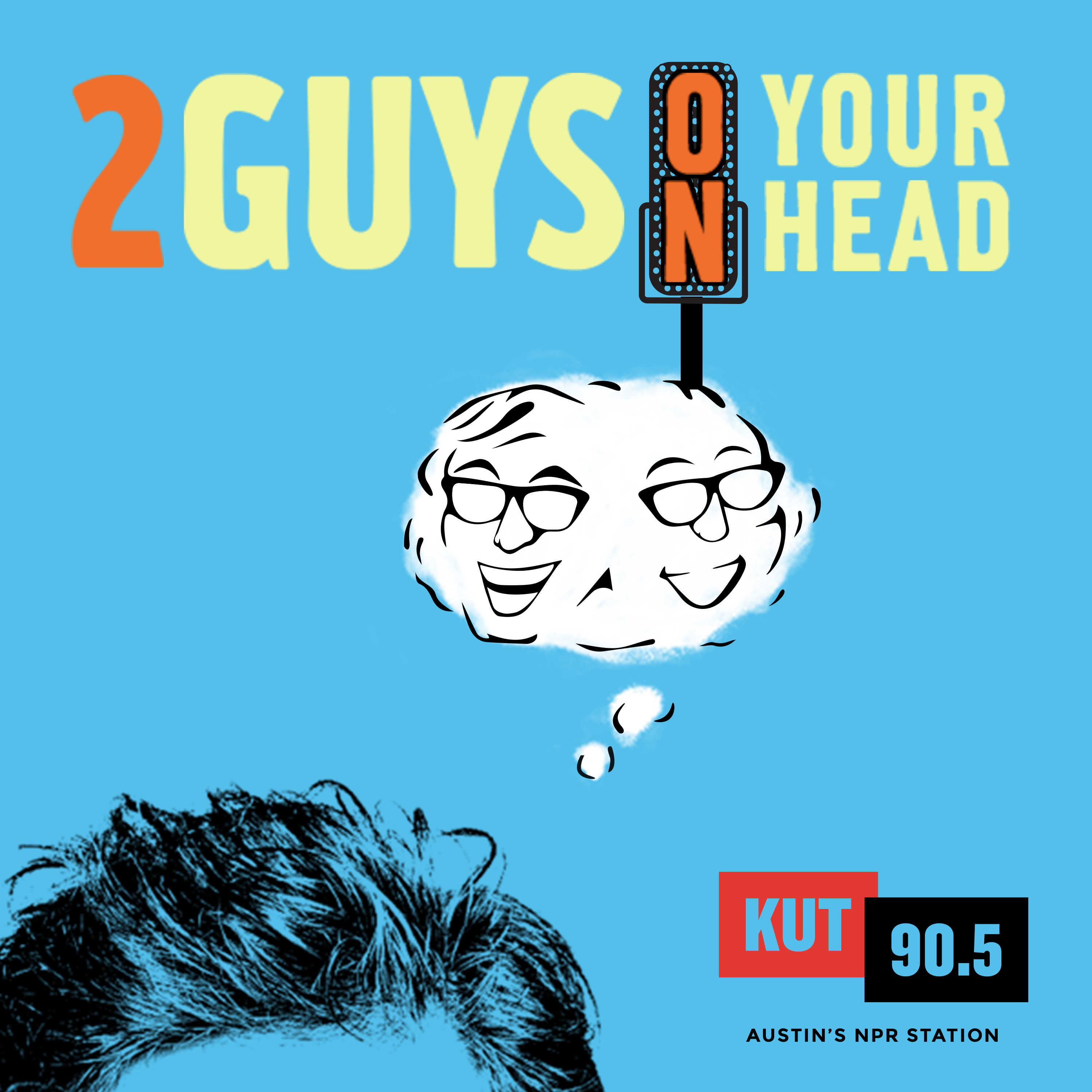 two guys on your head logo