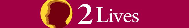 KJZZ's 2 Lives Logo