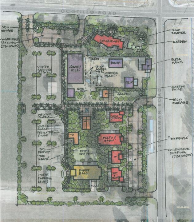 Heritage Corner master plan