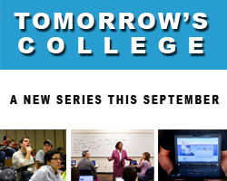 Tomorrow's College.  A new series this September by American RadioWorks