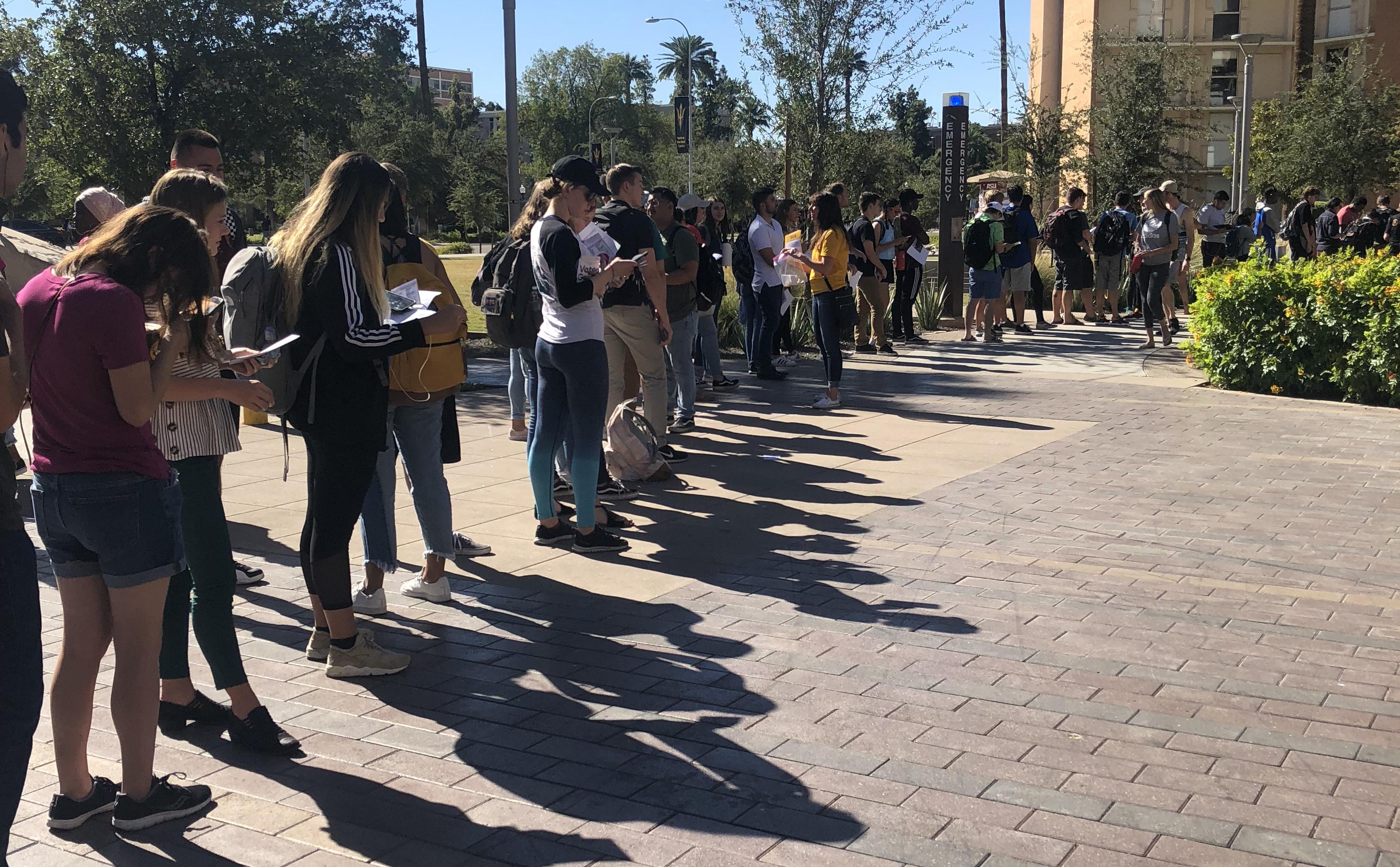ASU Tempe voting polling election
