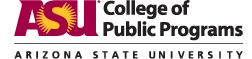 ASU College of Public Programs logo