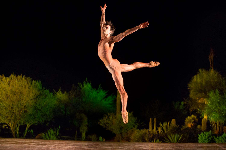 Ballet Arizona dancer Nayon Iovino