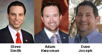 Steve Smith, Adam Kwasman, Dave Joseph