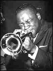 Clifford Brown playing trumpet