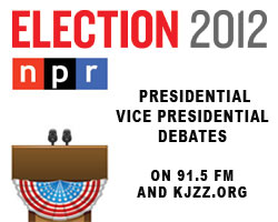 NPR Election 2012 Coverage of the Presidential and Vice Presidential Debates on 91.5 FM and KJZZ.org