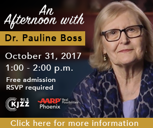 Dr. Pauline Boss Book Signing