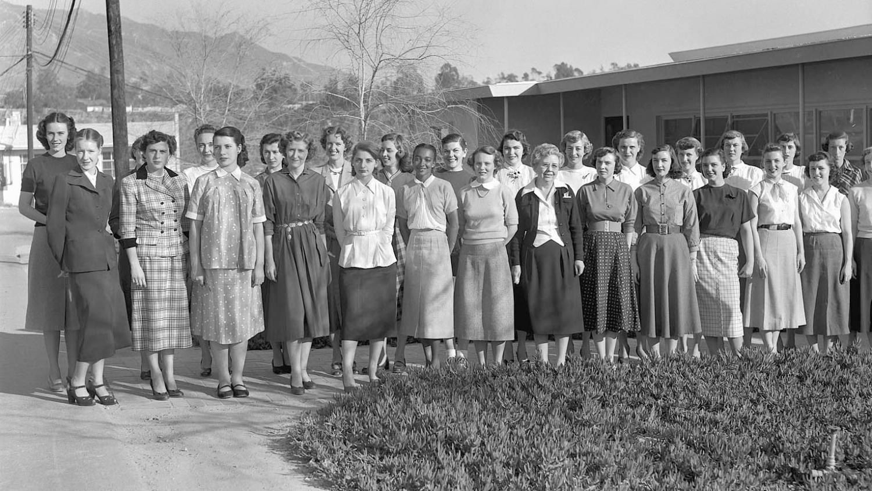 "Female ""computers"" at NASA's Jet Propulsion Laboratory"