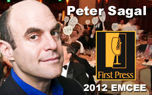 Peter Sagal, First Press 2012 Emcee