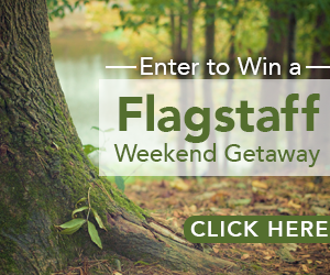 Enter to Win a Flagstaff Weekend Getaway