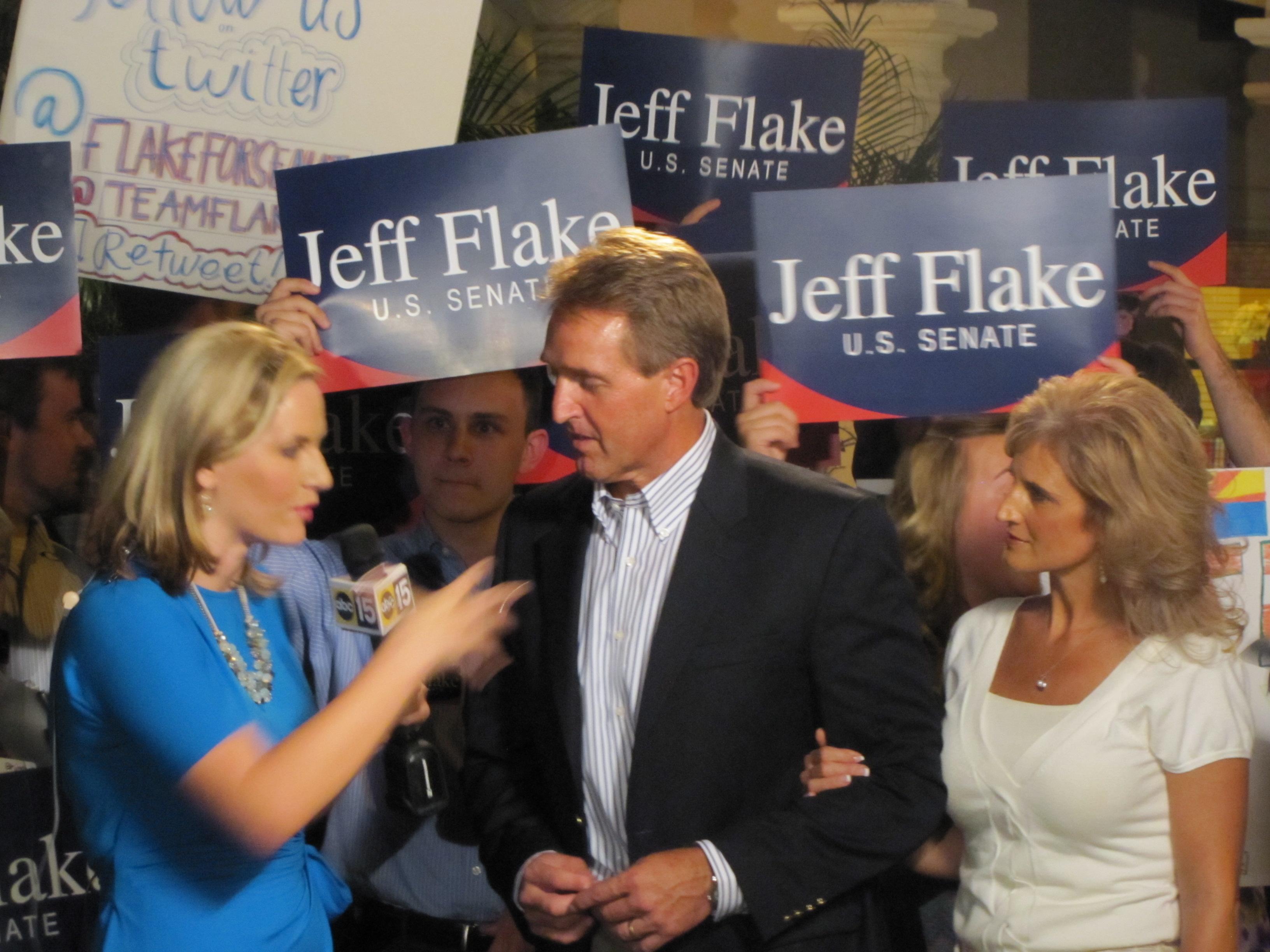 Jeff Flake interview