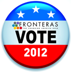 Fronteras Vote 2012 Button