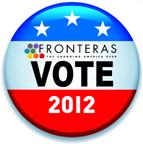 Fronteras Vote 2012 Button