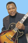 George Benson with guitar