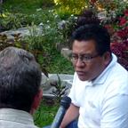 Paluzzi interviews an instructor