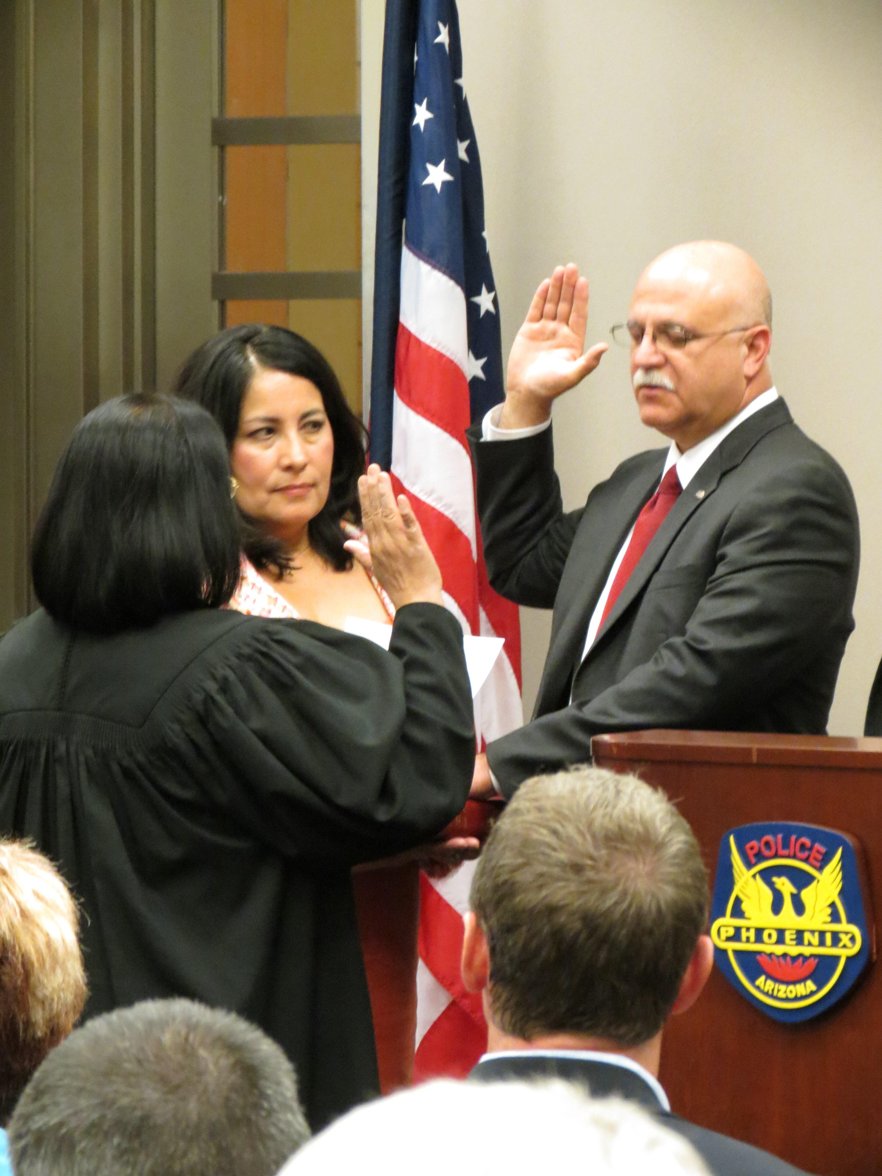 New Phoenix Police Chief Daniel Garcia