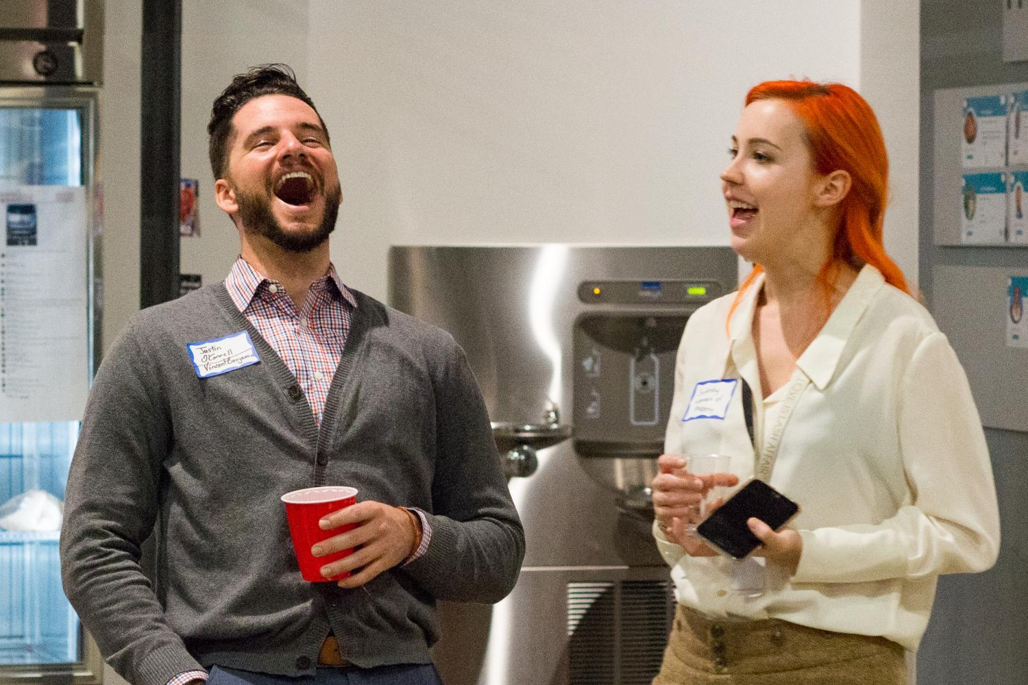 Winter Mixer at Galvanize