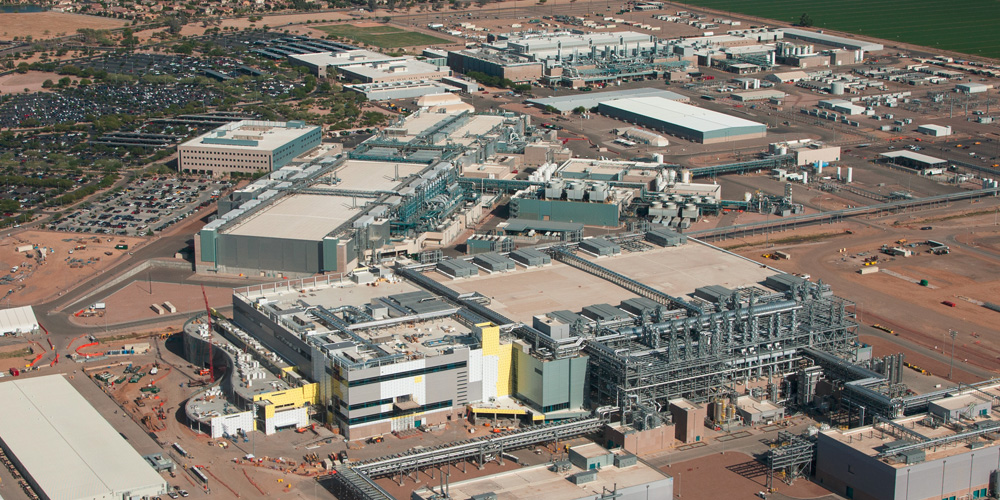 work to resume on intel u2019s chandler plant by year u2019s end