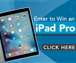 Enter to Win an iPad Pro