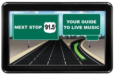 GPS Deivice - Next Stop 91.5 Jazz in AZ