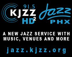 91.5 KJZZ HD2 Jazz PHX-- A new Jazz service with music, venues and more.  jazz.kjzz.org