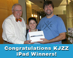 Congratulations KJZZ iPad Winners