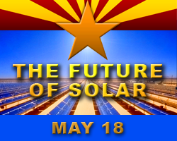 The Future of Solar - A community forum, May 18