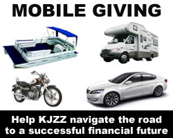 Mobile Giving: Help KJZZ Navigate the road to a successful financial future with a vehicle donation