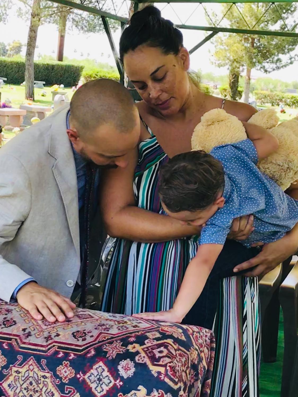 Kalila Martinez and Family