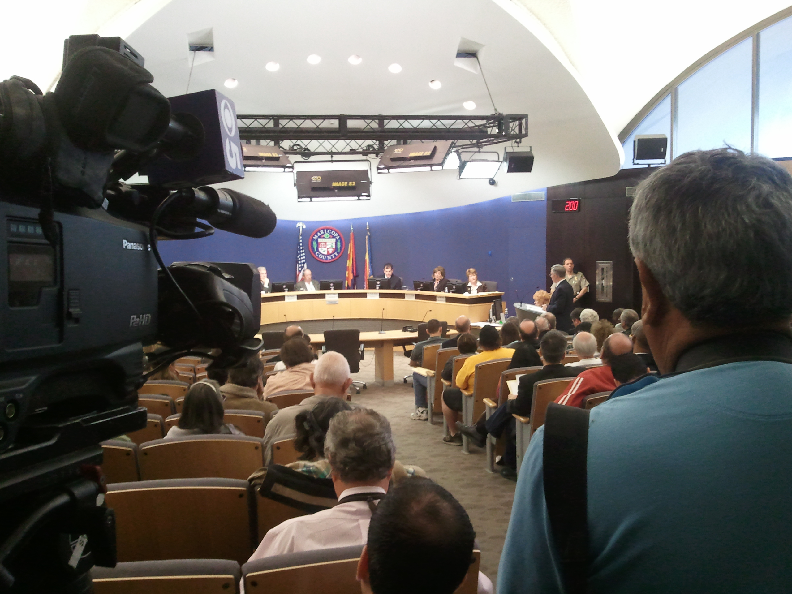 Maricopa County Board of Supervisors meeting