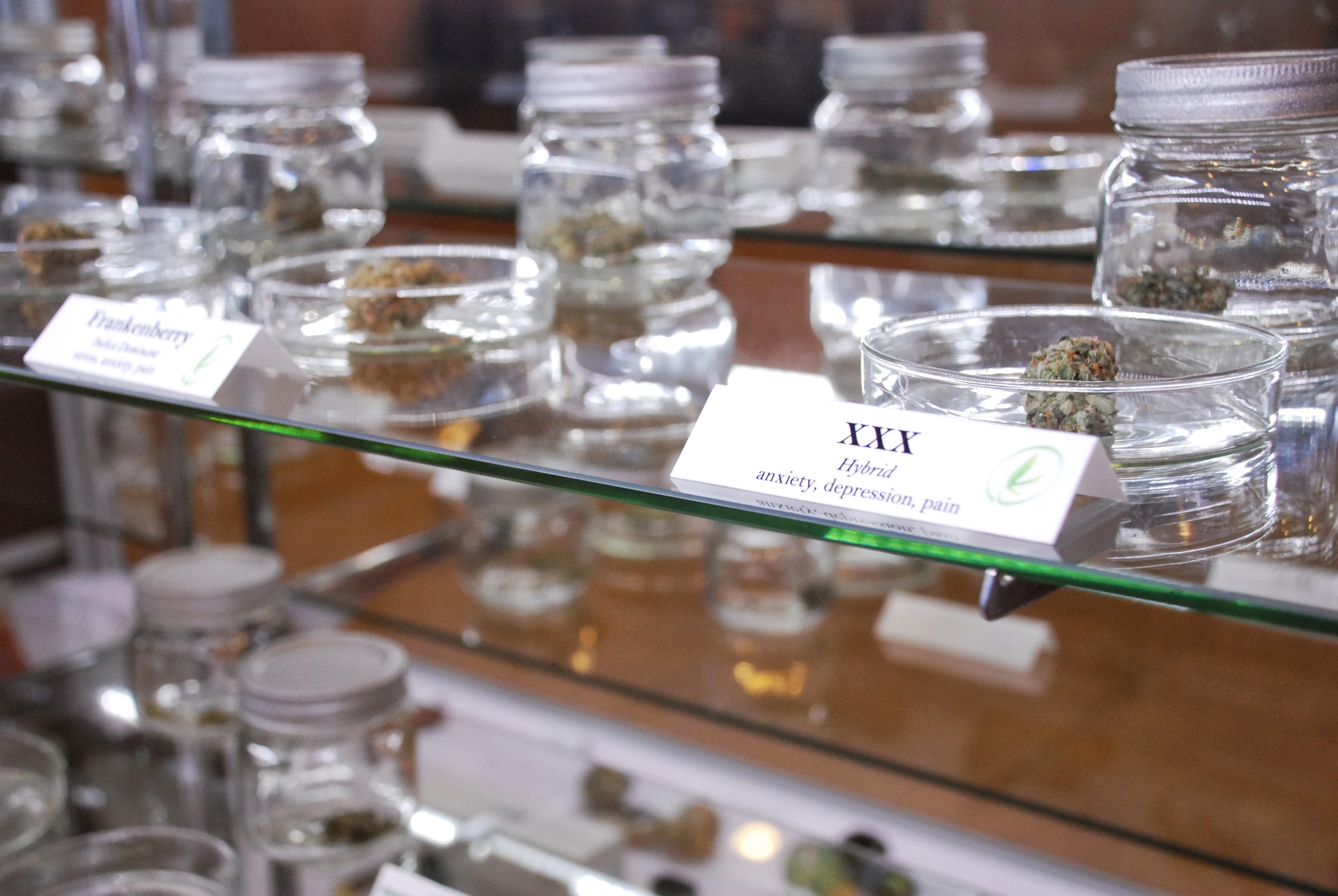 Medical marijuana at Giving Tree