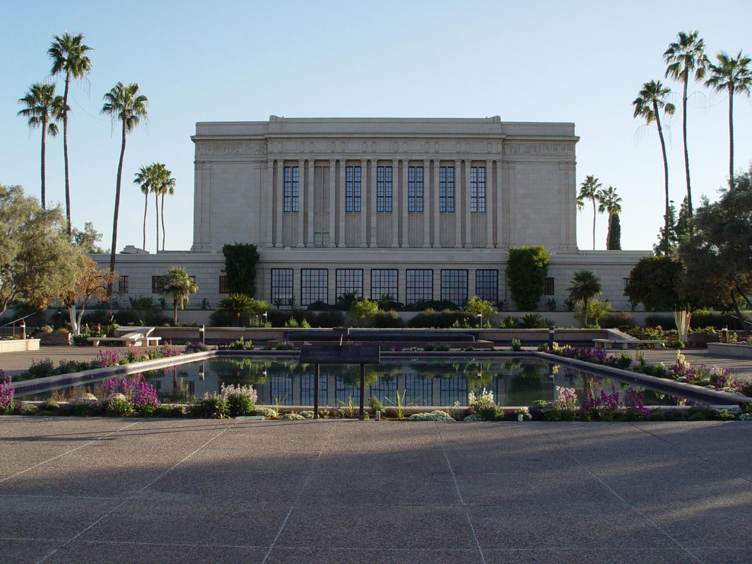 Mormon Temple in Mesa
