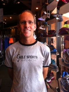 Lance Muzslay of Sole Sports Running Zone