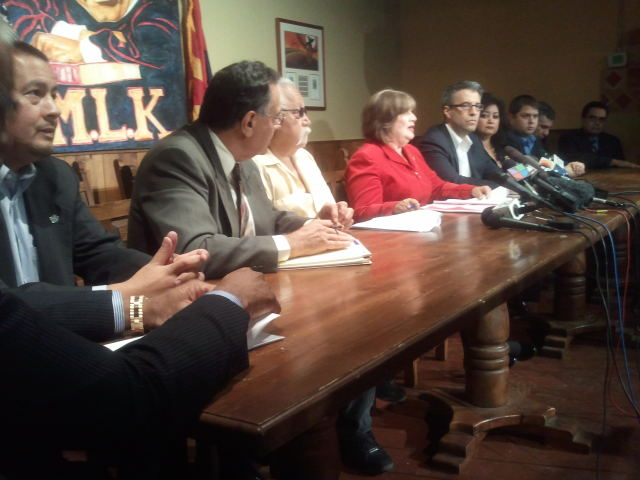 Latino elected officials press conference