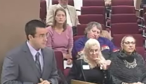 The Goldwater Institute's Nick Dranias testified about the union bills before the Senate Government Reform Committee February 1, 2012.