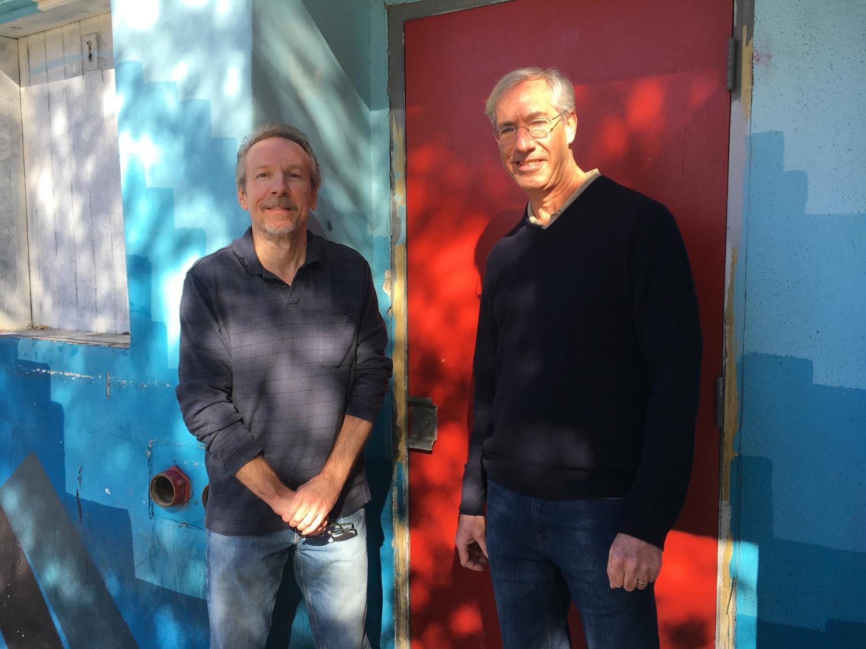 Paul Scharbach (left) and Robert Melikian