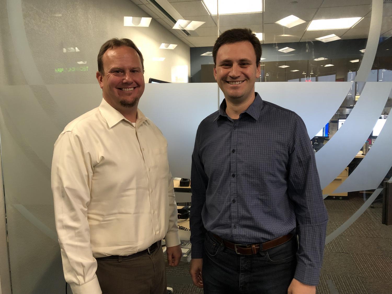 Paul Bentz (left) and Andrei Cherny