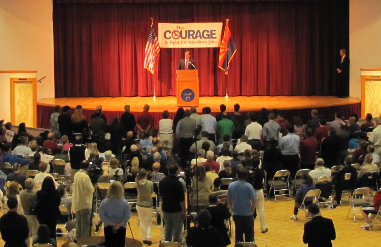 Rick Santorum visits Arizona