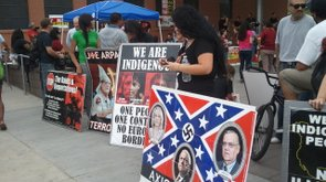 Tease photo: SB 1070 Opponents Protest In Downtown Phoenix