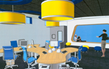 Spot 127 Newsroom rendering