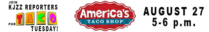 Join KJZZ Reporters for Taco Tuesday at America's Taco Shop, Aug. 27 5-6 p.m.