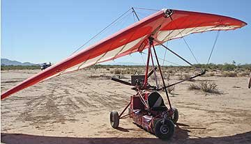 ultralight aircraft seized on US/Mexico border in Arizona