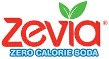 Zevia logo.  Zero Calorie Soda.