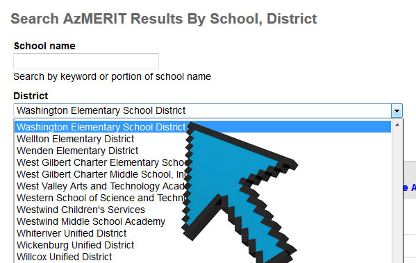 Search azmerit results by school district kjzz malvernweather Choice Image