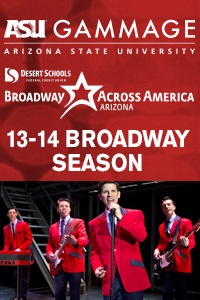 ASU Gammage Broadway poster