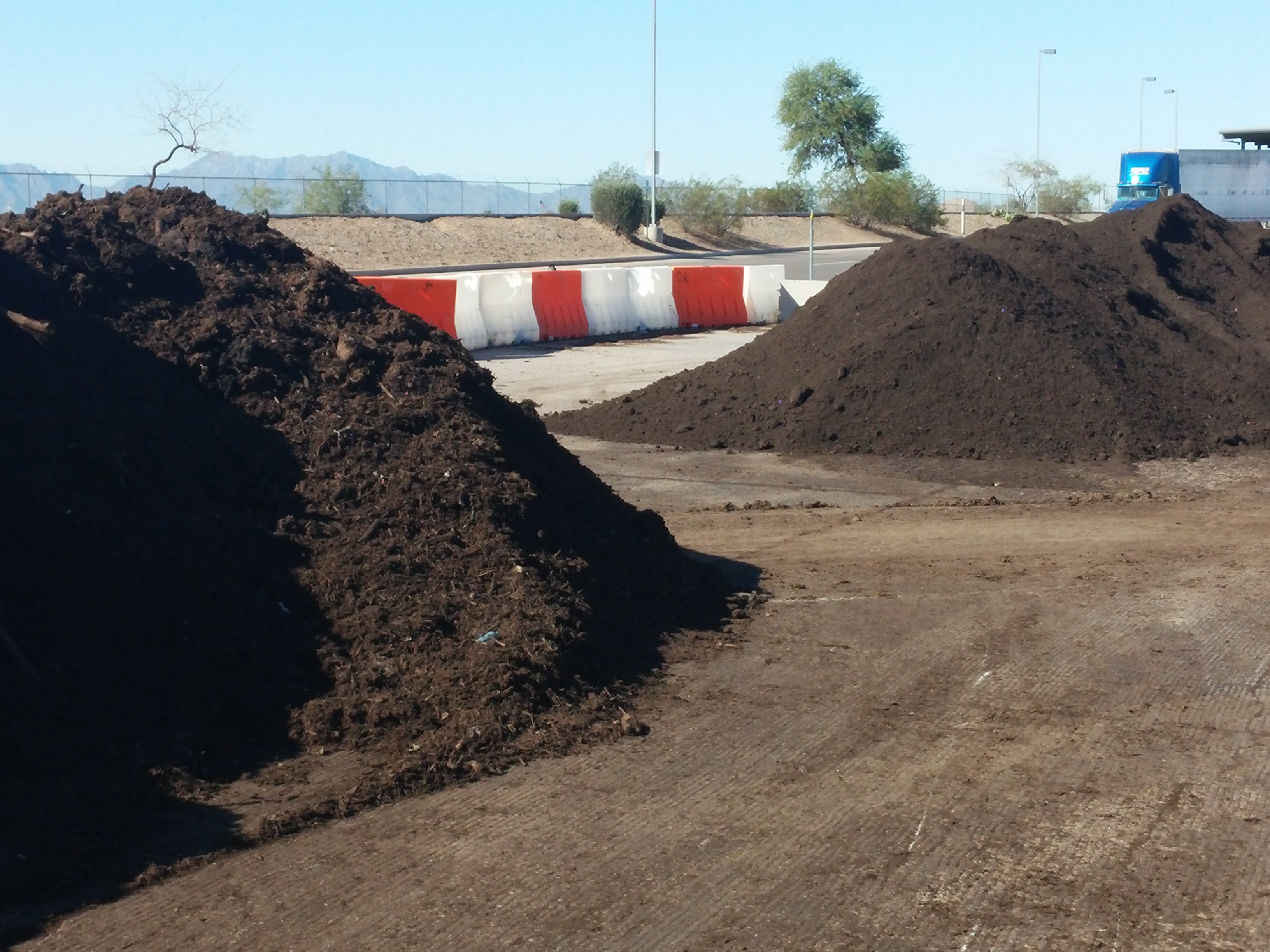 compost, food, waste, soil