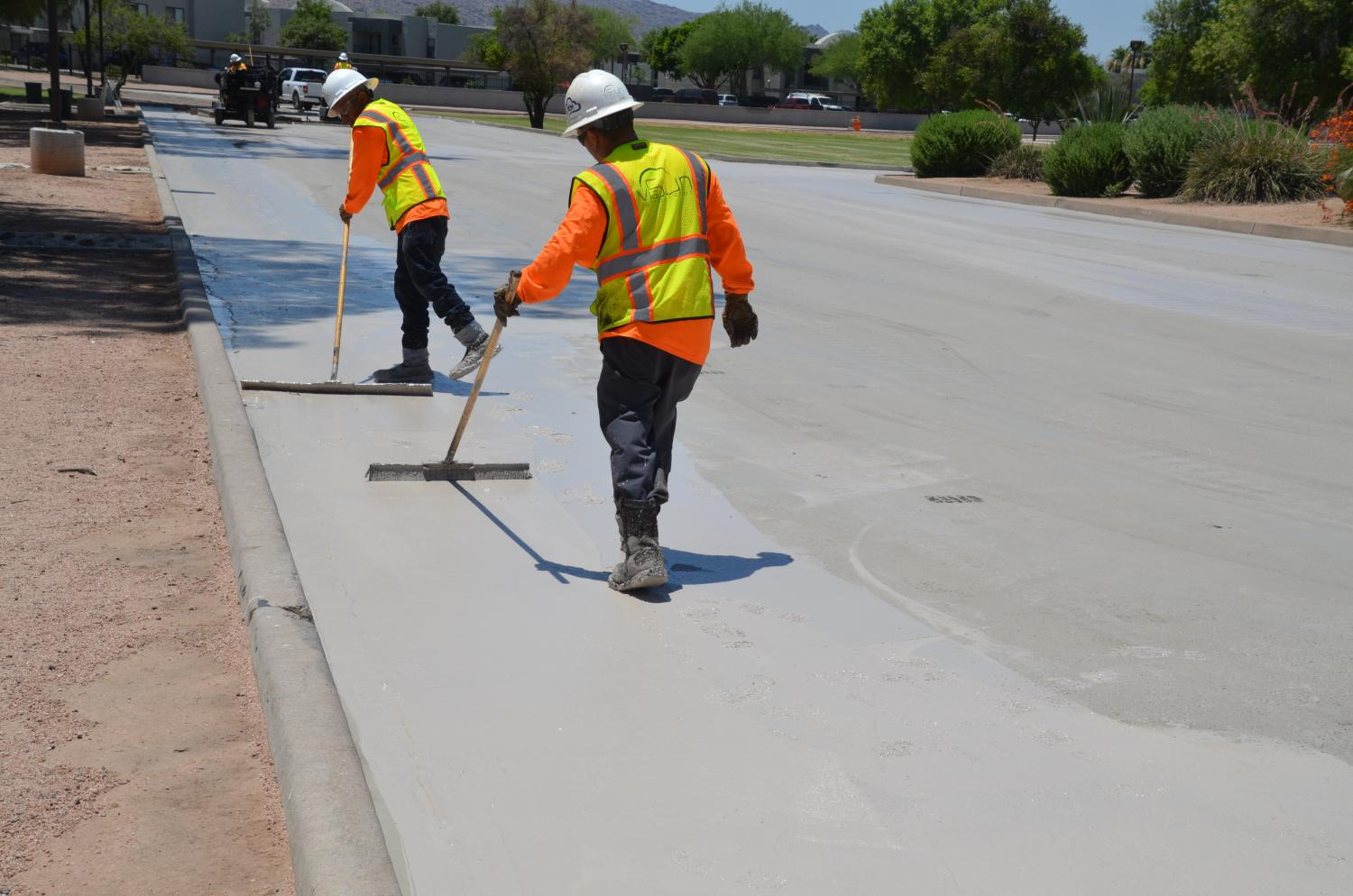 1 Year Later, Phoenix 'Cool Pavement' Researchers Find Temperature Drop