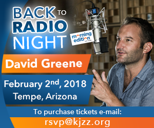 Back to Radio Night with David Greene