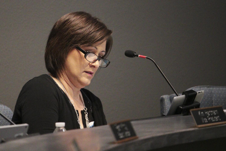 SUSD Governing Board Presdient Barbara Perleberg